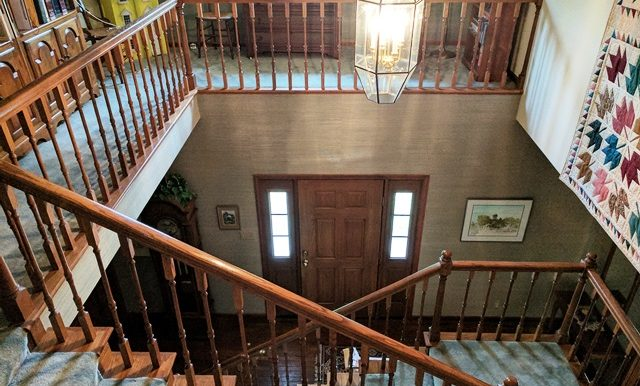 48-Looking Down on Front Entryway