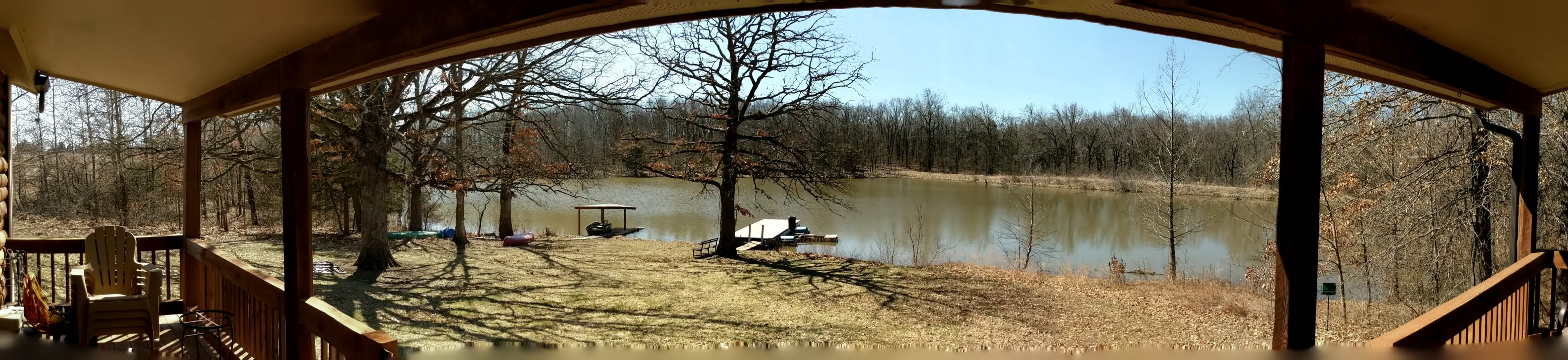 61 Acre Lakeside Country Home or Weekend Get-Away!